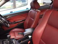 BMW 3 Series leather interior