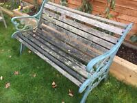 Garden bench - renovation project