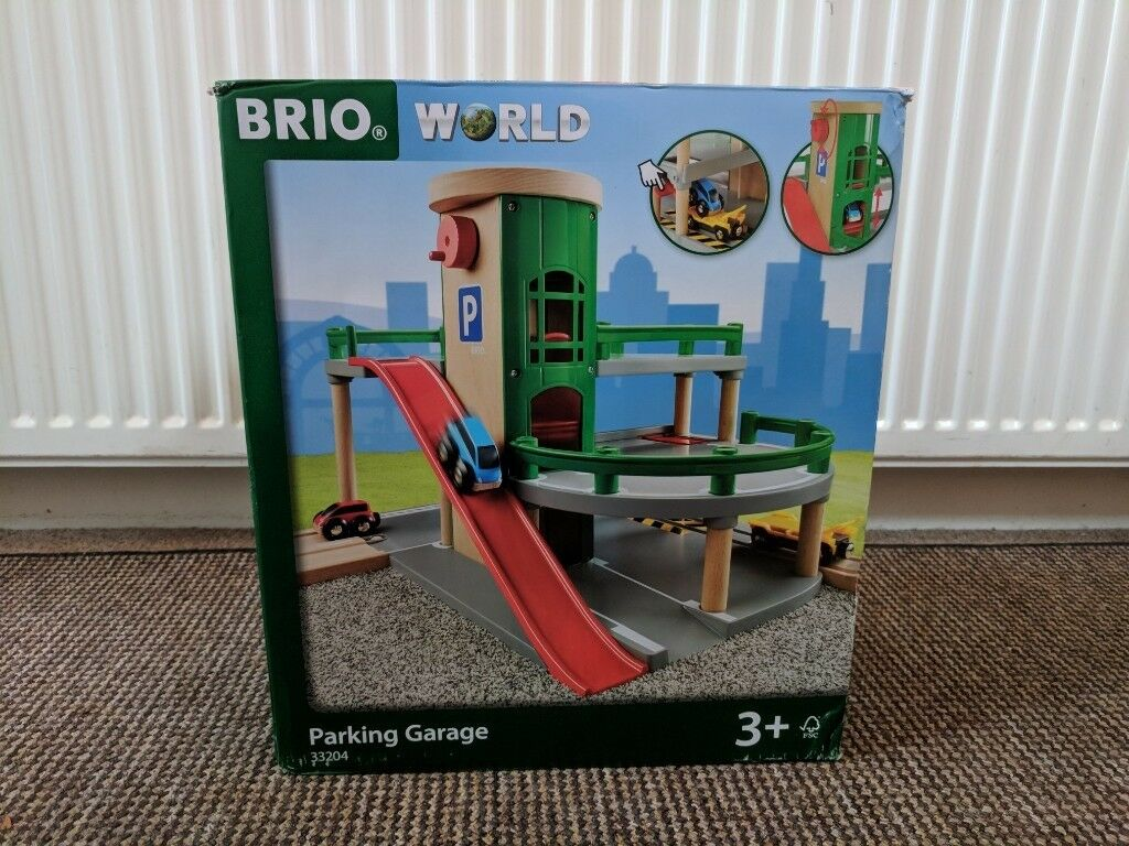 Garage Brio brio parking garage playset (brand new) | in arnold, nottinghamshire