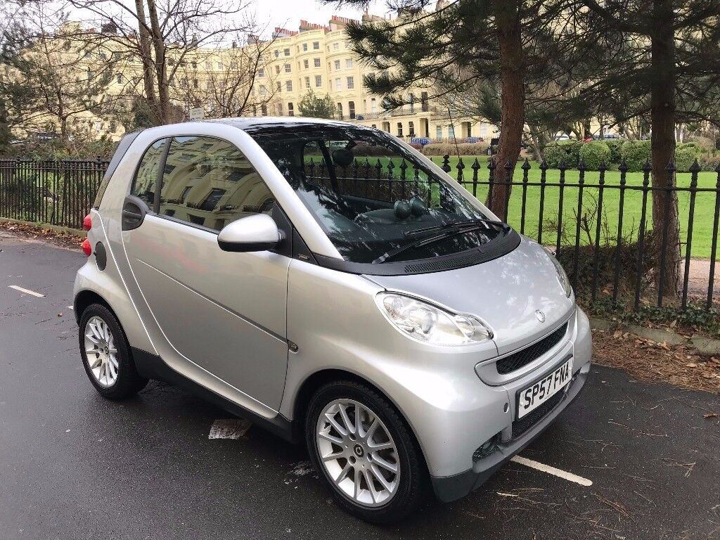 SMART FORTWO PASSION 84 AUTO, 2008, FULL LEATHER, HEATED SEATS, NEW MOT+SERVICE