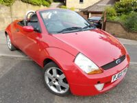 Ford Ka Convertible,1 year mot and only 58 000 miles,Nice little car