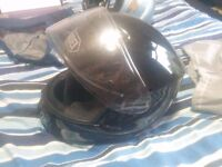 Shoei Qwest M 57-58cm with Pinlock + Leather Whisper Strip. Great condition!