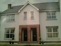 New build 3 bedroom house to let