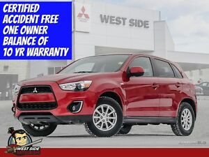2014 Mitsubishi RVR SE–Accident Free–One Owner–4WD–2.0L–$79/WEEK
