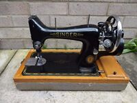 Singer Centennial Anniversary Sewing Machine 99K (1951) + Case