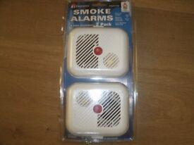 PACK OF 2 SMOKE ALARMS