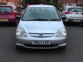 HONDA CIVIC INSPIRE S 5 DOOR HATCHBACK 1.6L PETROL