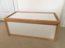 Ikea toy or blanket box