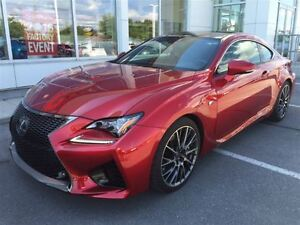 2016 Lexus RC F PERFORMANCE PACKAGE!