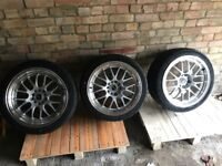 Rota MX-R brand new with tyres 5x120