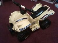 Toddler Tonka ride-on car