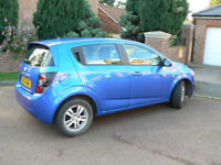 Chevrolet Aveo LT model . 31k miles approx , owned by me 4yr.Easy to drive and many extras.Long MOT