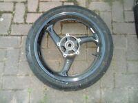 Suzuki Hayabusa Wheels 2008 onwards inc Bridgestone BATTLAX BT015 tyres £170 for the pair
