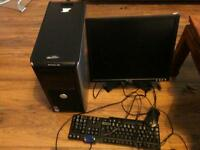 Dell optiplex 755 ,tower with monitor and keyboards