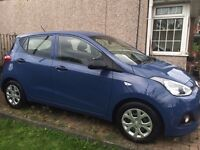 Hyundai I10 - 2014 - 4654 miles only - As new condition - Bargain for quick sale.