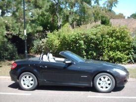 Mercedes-Benz, SLK, Convertible, 2005, Auto, 1796 (cc), 2 doors