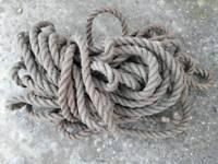 27m Heavy duty hessian rope
