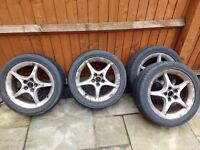 Free alloy wheels - 205/50 r16 87w from Toyota Celica
