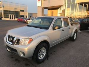2016 Nissan Frontier SV Crew Cab 4x4, More truck for the Buck!