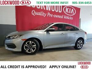 2016 Honda Civic LX - REARVIEW CAMERA, HEATED SEATS, BLUETOOTH
