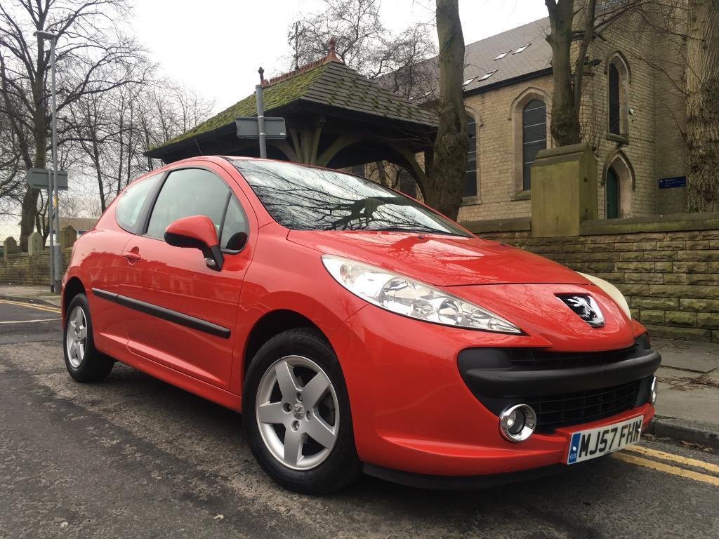 2007 Peugeot 207 1.4 Sport Low Miles Only 64k October 2018 Mot Drive Away