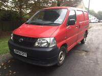 Toyota hiace power van 2007 only 112,000 miles