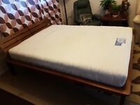 King size bed with good quality mattress