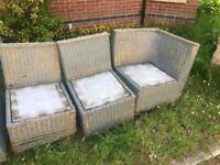 Rattan Wicker Chairs for Sale