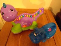 Leapfrog dinosaur and little tikes torch