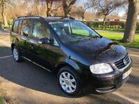 2005 Volkswagen Touran 1.9 TDI SE 5dr (7 Seats) Full Service History HPI Clear 1 Owner @07541423568@