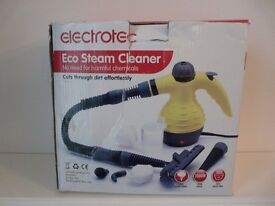 Hand held eco steam cleaner