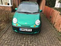 Daewoo Matiz, 800cc, cheap runner, perfect 1st car