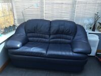 Free to collector 2 seater leather sofa
