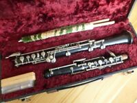 Oboe, Early Howarth Model S10, conservatoire system (no thumb plate) £300 - needs full repad