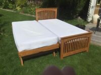 SINGLE BED WITH GUEST TRUNDLE BED BELOW