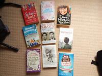 Mixture 9 Books fiction & non fiction, car boot?