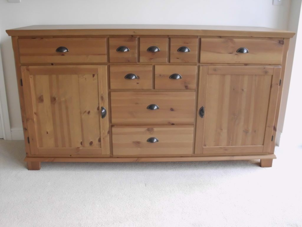 Ikea Markor Leksvik Sideboard Massive Storage In Lovely