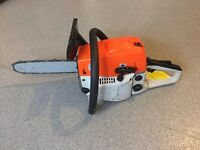 petrol chainsaw new never used