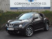 NISSAN JUKE 1.6 TEKNA 5d AUTO 117 BHP NEW MOT AND SERVICE (orange) 2013