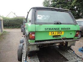 range rover 4.2 turbo diesel nissan bob tailed off roader spares repairs