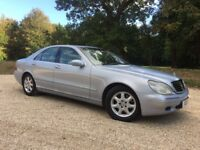REDUCED !!!!! Mercedes S280 2001 51 11 months mot FSH low miles