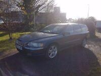 54 REG VOLVO V70 D5 SE AUTO,2.4 DIESEL,2 KEYS,FSH,12 MONTHS MOT,07858140523