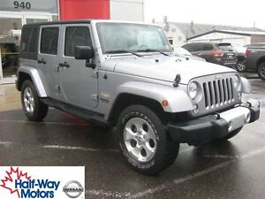 2015 Jeep WRANGLER UNLIMITED Sahara   Trail Rated!
