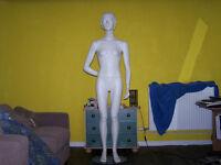 teenage girl mannequin