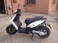 Piaggio Typhoon 50CC SCOOTER (2011) (USED) WHITE