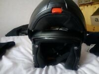 Full face ls2 strobe flip front helmet £60