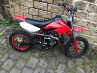 BIG WHEEL 125 cc pitbike 2018