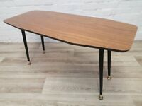 Vintage Formica Coffee Table (DELIVERY AVAILABLE FOR THIS ITEM OF FURNITURE)