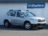 Dacia Duster 1.5 dCi 110 Laureate 5Dr 4X4 Estate (silver) 2014