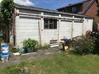 Block construction Garage. FREE OF CHARGE. Buyer dismantles and collects (no roof)